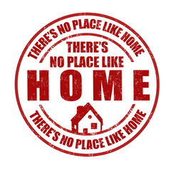 There's no place like home stamp