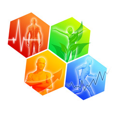 Health and Fitness Icons III
