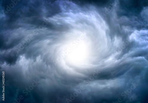 Dramatic Clouds Background - 63245361