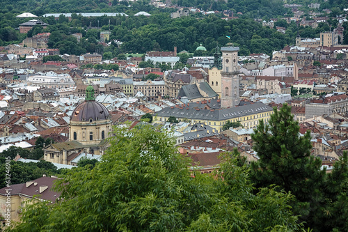 View of Lviv from Castle Hill, Ukraine