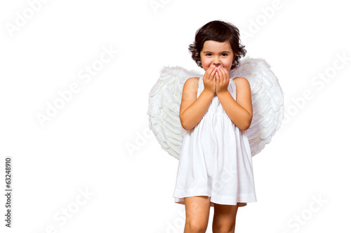 Little girl angel