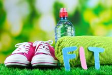 Fitness et de la vie saine. Conceptual photo