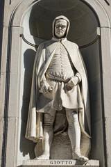 Florence uffizi statue Giotto