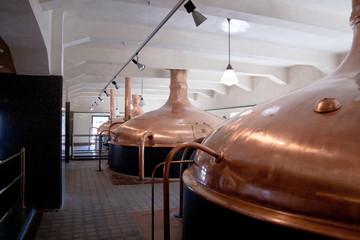 Beer kettles to ferment beer