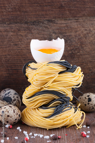 Homemade Italian angel hair noodles