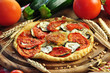 Tomaten, Pizza