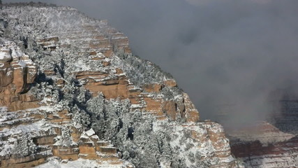 Grand Canyon Snowstorm