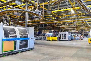 Verpackungsmaschinen in Großdruckerei