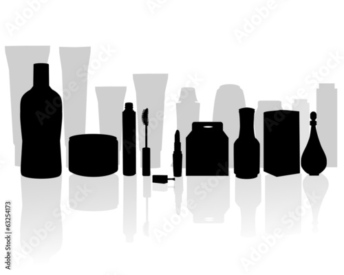 Beauty product-vector