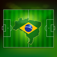 brazil soccer pitch