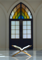 Quran in Malaysian mosque