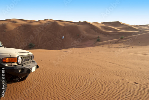 4WD in the Desert