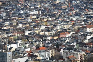 Stadt, Bebauung, Mietshäuser, Wohnungen, Immobilien, Mieten