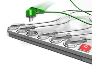 multiplug_green