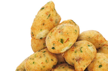 bunuelos de bacalao, spanish cod fritters