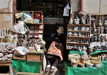 la paz -  the market of witches