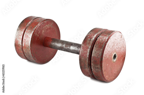 old dumbbell