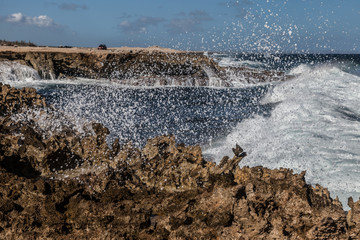 The North Coast of Curacao