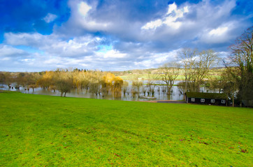 Thames flood