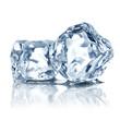 ice cubes minimalistic background