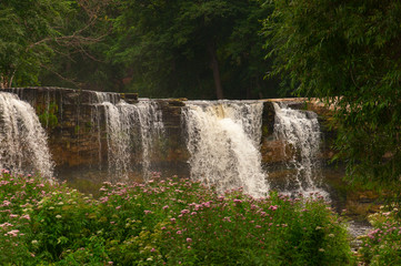 Waterfall in Keila, Estonia