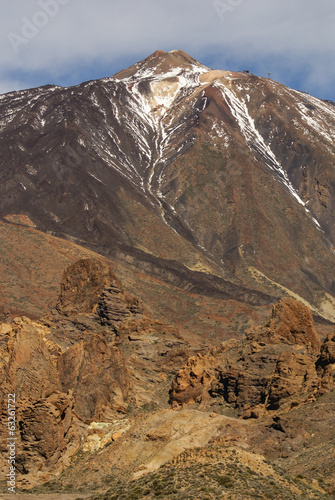 Tenerife, Canary Islands, Spain - volcano Teide National Park. M