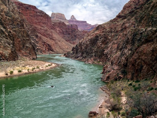 Colorado River, South Rim, Grand Canyon National Park, Arizona