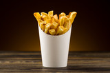 French fries packaging paper - 63262371