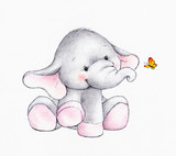 Cute elephant - 63262596