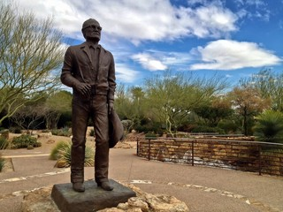 Barry Goldwater Memorial, Paradise Valley, Phoenix, Arizona, USA