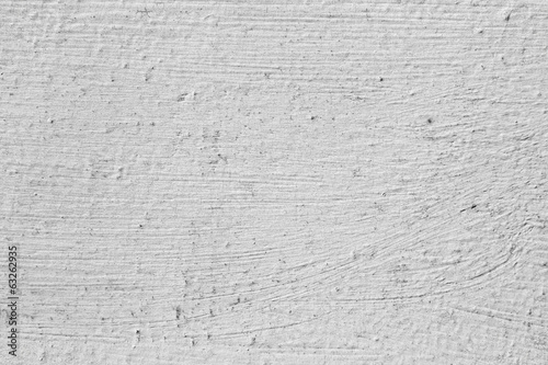 Grey background. White painted old wall.