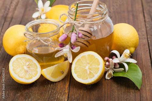 honey and  lemons