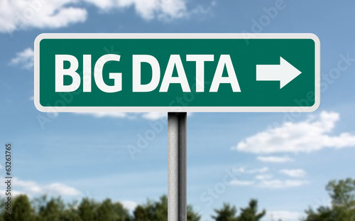 Big Data road sign