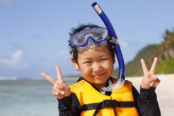 グアム 子ども ビーチ