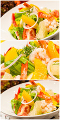 Salad shrimp