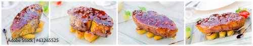 canvas print picture Foie gras