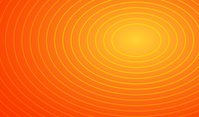 summer gradient orange circle ring pattern background