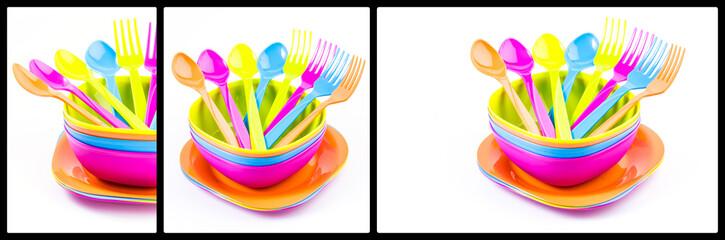 Plate fork spoon