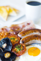 Close-Up Photo Of Full English Breakfast