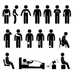 Human Body Support Equipment Tools Injury Pain