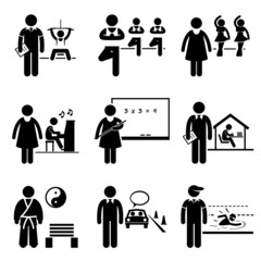 Coach Instructor Trainer Teacher Jobs Occupations Careers