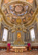 Bologne - Chapelle du Rosaire à l'église de Saint-Dominique