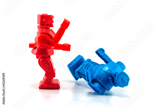 robot toy knockout - 63269389