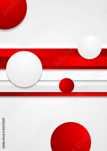 Vector abstract tech background © saicle