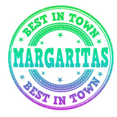 Margaritas stamp