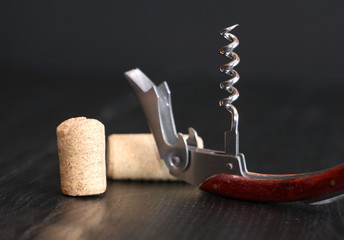 Corkscrew On Dark