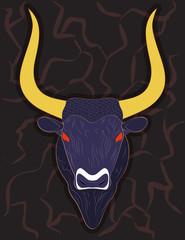 Head of Minoan Bull