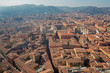Bologna - Outlook from Torre Asinelli to south in morning
