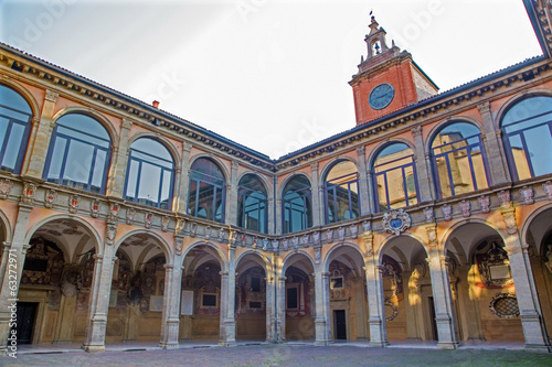 Bologna - atrium of Archiginnasio