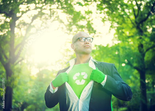 canvas print picture Conservative Businessman